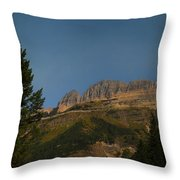 On The Going To The Sun Road  Throw Pillow