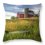 On The Hilltop Throw Pillow