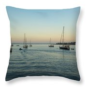 On The Hook In Saint Augustine Throw Pillow