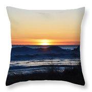 On The Horizon Throw Pillow