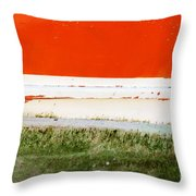 On The Hull Throw Pillow