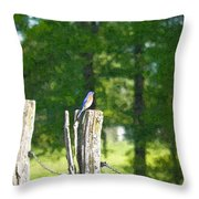 On The Hunt 2 Throw Pillow