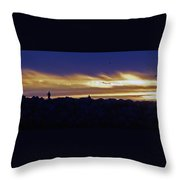 On The Jetty Throw Pillow
