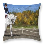 On The Left Throw Pillow
