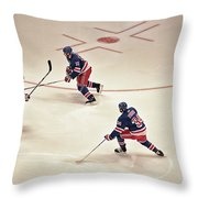 On The Offense Throw Pillow