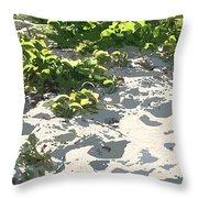 On The Oregon Dunes Throw Pillow