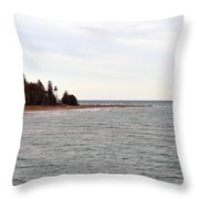 On The Point Throw Pillow
