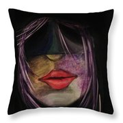 On The Prowl  Throw Pillow by D August