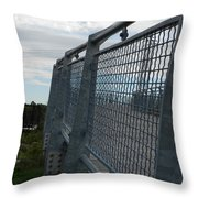 On The Riverfront 1 Throw Pillow