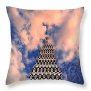 On The Riviera Stairway To Heaven Palm Springs Throw Pillow