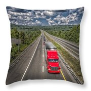 On The Road Again E61 Throw Pillow