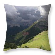 On The Road To Crystal Lake Throw Pillow