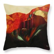 On The Road To Enlightenment Throw Pillow