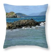 On The Rocks 02 Throw Pillow