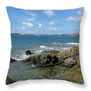On The Rocks 03 Throw Pillow