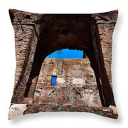 On The Ruins Of An Emipire Throw Pillow