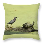 On The Same Limb Throw Pillow