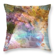 On The Seventh Day Throw Pillow