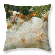 On The Soft Pillow Throw Pillow