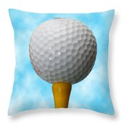 On The Tee Throw Pillow