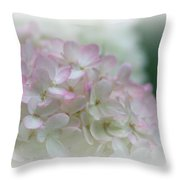 On The Verge Of Pink Throw Pillow