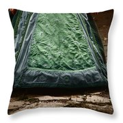 On The Walkway Throw Pillow