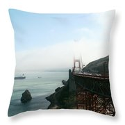 On The Way Back To San Francisco Throw Pillow