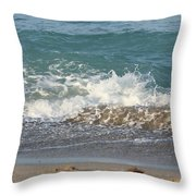 On The Way Out Throw Pillow