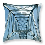 On The Way To Cape Cod Throw Pillow