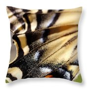 On The Wing Of An Angel Throw Pillow
