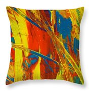 On Time Throw Pillow
