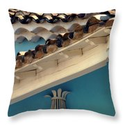 On Top.. Throw Pillow