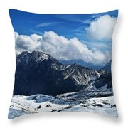 On Top Of Germany Throw Pillow