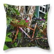 Once A Nice Ride Throw Pillow