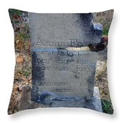 Once Known Throw Pillow