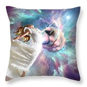 Once Touched Forever Changed Throw Pillow