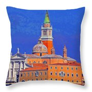 Once Upon A City Throw Pillow