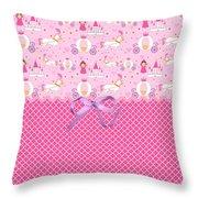 Once Upon A Princess Throw Pillow