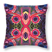 Once Upon A Time 2 - The Joy Of Design Xlll Arrangement Throw Pillow