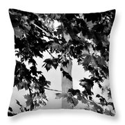 Once Upon A Time In Bw Throw Pillow