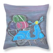 Once Upon A Time In India.. Throw Pillow