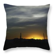 Once Upon A Time In Mexico Throw Pillow by Lynn Geoffroy