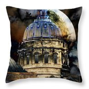 Once Upon A Time On A Warm Summers Night In San Francisco 5d22548 Throw Pillow