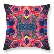 Once Upon A Time - The Joy Of Design Xlll Arrangement Throw Pillow