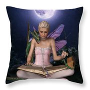 Once Upon A Time There Was . . .  Throw Pillow
