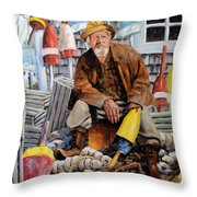 Once Upon A Time We Were Mariners Throw Pillow