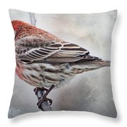 Once Upon A Winters Day Throw Pillow
