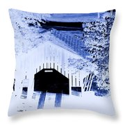Once Upon A Winter's Eve Throw Pillow