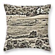 Once Upon The Long Ago Throw Pillow