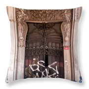 Once Was Splendid Throw Pillow